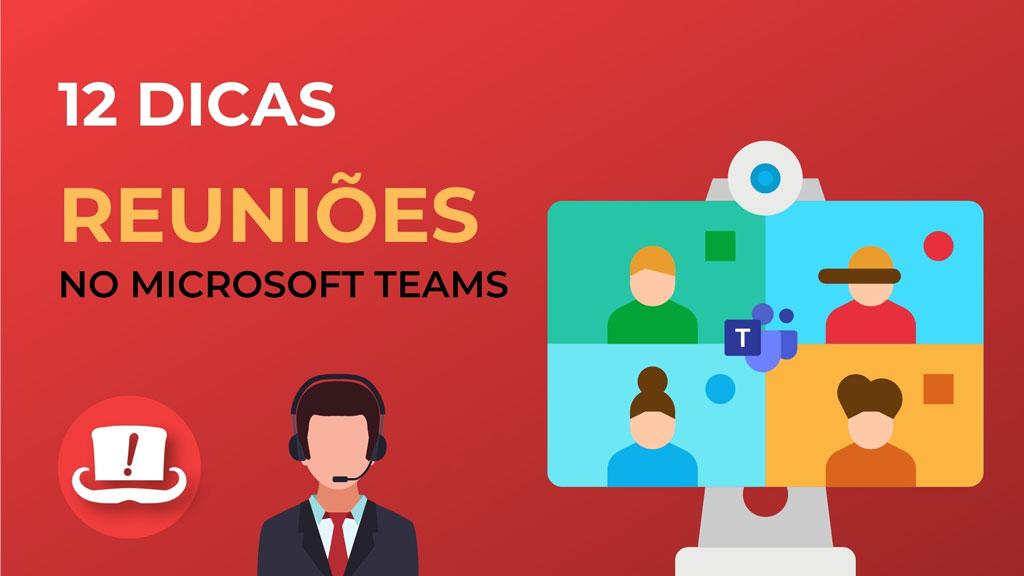 Reuniões no Microsoft Teams